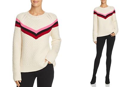 MILLY Wool Fisherman Sweater - Bloomingdale's_2