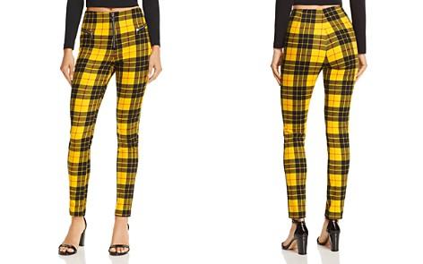 Tiger Mist Pearl Plaid Skinny Pants - Bloomingdale's_2