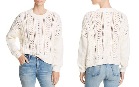 AQUA Cable-Knit Chenille Sweater - 100% Exclusive - Bloomingdale's_2