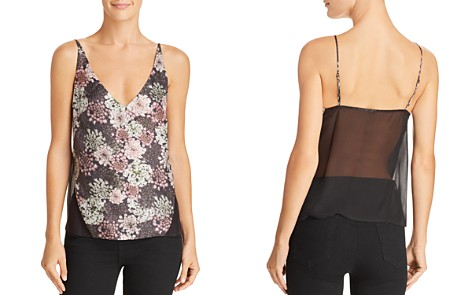 J Brand Lucy Silk Camisole Top - Bloomingdale's_2