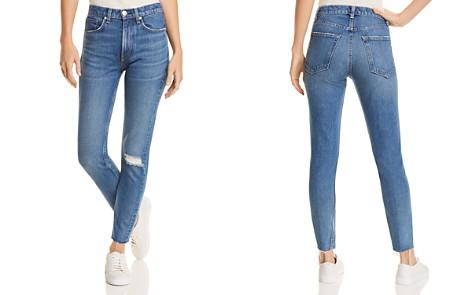 rag & bone/JEAN High-Rise Distressed Skinny Jeans in Pamela - Bloomingdale's_2