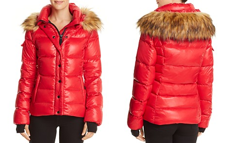 AQUA Faux Fur-Trim Puffer Jacket - 100% Exclusive - Bloomingdale's_2