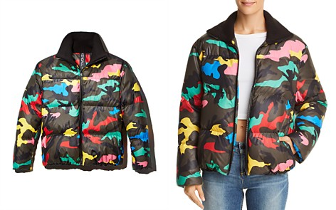 KENDALL + KYLIE Camo Puffer Jacket - 100% Exclusive - Bloomingdale's_2