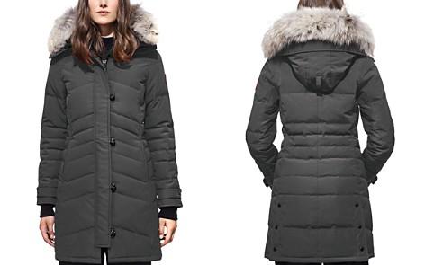 Canada Goose Lorette Coyote Fur Trim Down Coat - Bloomingdale's_2