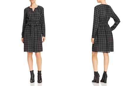 Rebecca Taylor Ruffled Plaid Silk Dress - Bloomingdale's_2