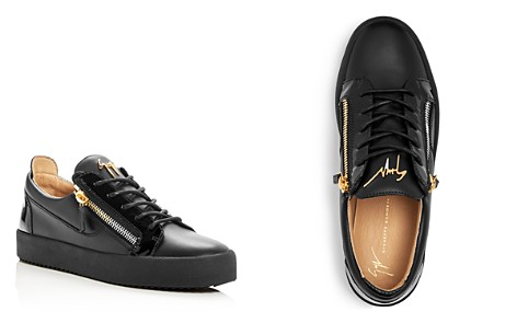 Giuseppe Zanotti Men's Leather Lace Up Sneakers - Bloomingdale's_2