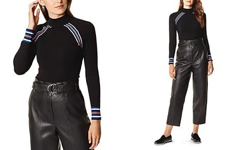 KAREN MILLEN Sporty Striped Detail Sweater - Bloomingdale's_2
