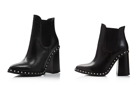 Charles David Women's Scandal Pointed Toe Studded Leather Booties - Bloomingdale's_2