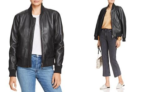 Hudson Leather Bomber Jacket - Bloomingdale's_2