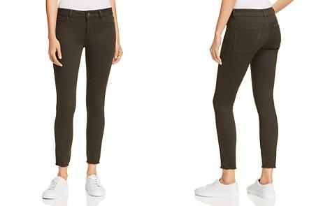 DL1961 Margaux Mid Rise Instasculpt Skinny Jeans in Dark Olive - Bloomingdale's_2