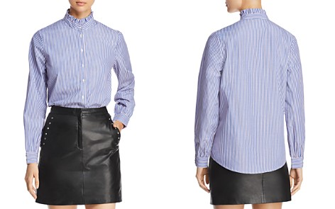 MKT Studio Crissin Striped Shirt - Bloomingdale's_2