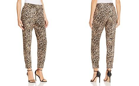 AQUA Leopard Print Jogger Pants - 100% Exclusive - Bloomingdale's_2