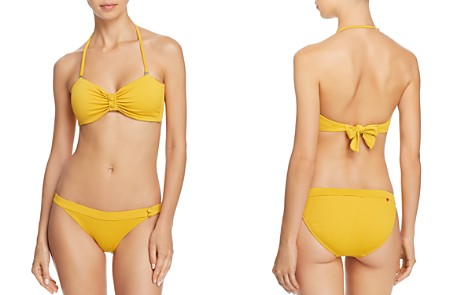 Red Carter Cali Chic Textured Bandeau Bikini Top & Cali Chic Textured Bikini Bottom - Bloomingdale's_2