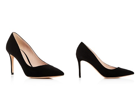 Giorgio Armani Women's Decolette Leather Pointed Toe Pumps - Bloomingdale's_2
