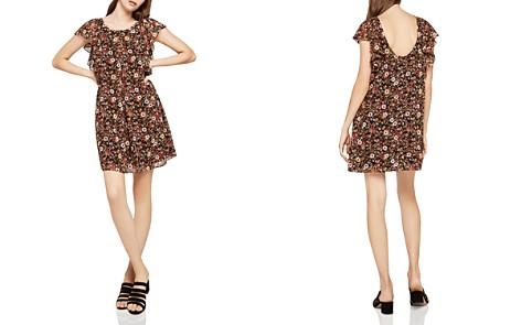 BCBGeneration Scoop-Back Floral Print Dress - Bloomingdale's_2