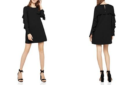 BCBGeneration Ruffled Check Chiffon Dress - Bloomingdale's_2