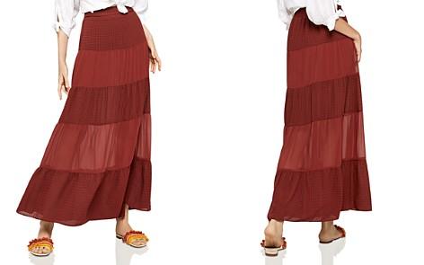 BCBGeneration Tiered Chiffon Maxi Skirt - Bloomingdale's_2