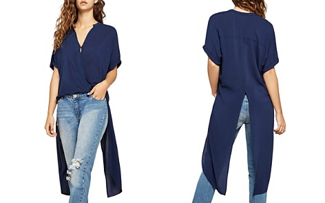 BCBGeneration High/Low Crossover Top - Bloomingdale's_2