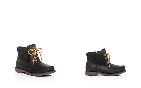 UGG® Boys' Bradley Nubuck Leather & Suede Boots - Little Kid, Big Kid - Bloomingdale's_2