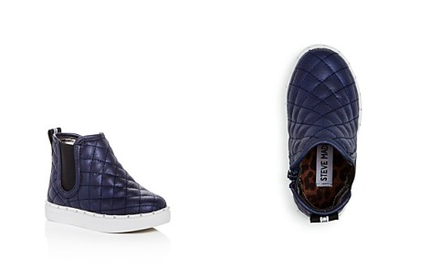 STEVE MADDEN Girls' Quest Quilted High Top Sneakers - Toddler - Bloomingdale's_2