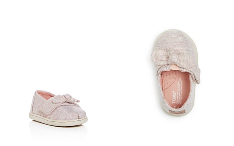TOMS Girls' Alpa Glitter Slip-On Sneakers - Baby, Walker, Toddler - Bloomingdale's_2