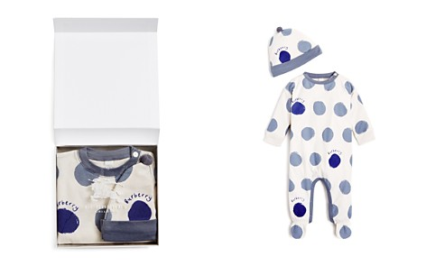 Burberry Boys' Dots Hat & Footie Set - Baby - Bloomingdale's_2