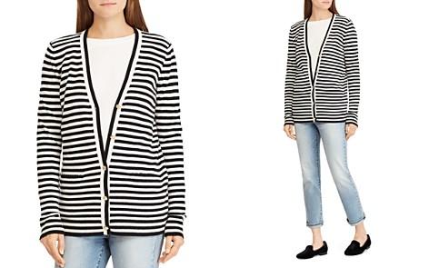 Lauren Ralph Lauren Striped Cashmere Cardigan - 100% Exclusive - Bloomingdale's_2
