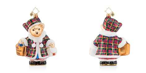 Christopher Radko Bloomingdale's 2018 Christmas Shopping Muffy Ornament - 100% Exclusive_2