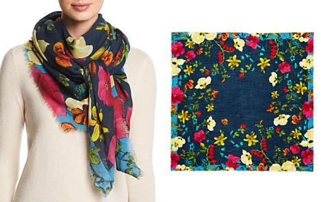 Echo Moonlit Garden Floral Print Scarf - Bloomingdale's_2