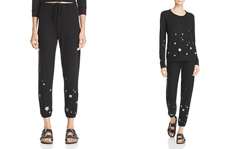 CHASER Glitter Star Sweatpants - Bloomingdale's_2