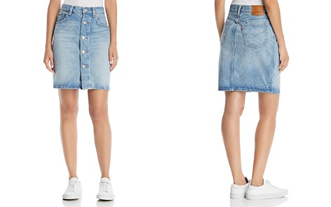 Levi's Mom Denim Skirt in Desperate Measures - Bloomingdale's_2