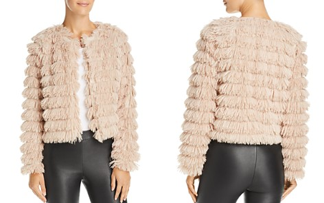 Sage the Label Prism Faux-Feather Jacket - Bloomingdale's_2