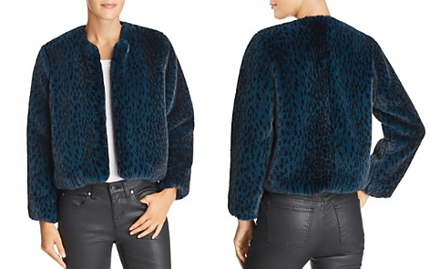 Michelle Mason Faux Fur Cropped Jacket - Bloomingdale's_2