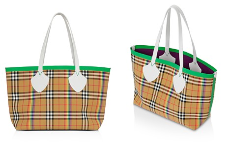 "Burberry ""The Giant"" Medium Rainbow Vintage Check Tote - Bloomingdale's_2"