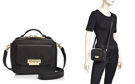 ZAC Zac Posen Earthette Small Leather Box Bag - Bloomingdale's_2