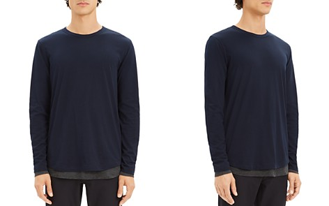 Theory Double-Layer Long Sleeve Tee - Bloomingdale's_2