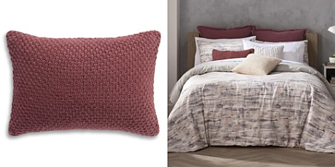 """Habit Collection by Highline Bedding Co. Berry Knit Decorative Pillow, 14"""" x 20"""" - 100% Exclusive - Bloomingdale's_2"""