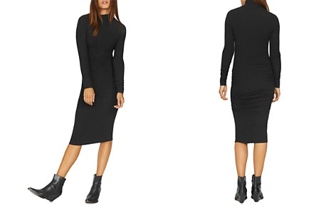 Sanctuary Long-Sleeve Ruched Midi Dress - Bloomingdale's_2