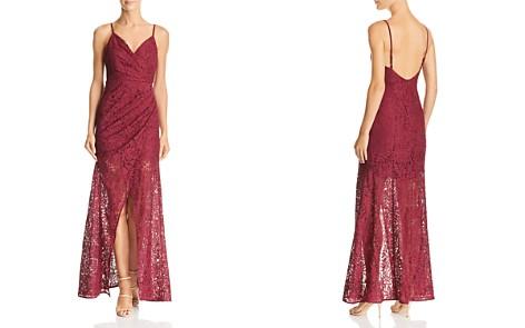 Aijek Faux-Wrap Lace Gown - 100% Exclusive - Bloomingdale's_2
