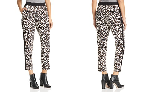 Marella Rosone Cropped Leopard Tuxedo Pants - 100% Exclusive - Bloomingdale's_2