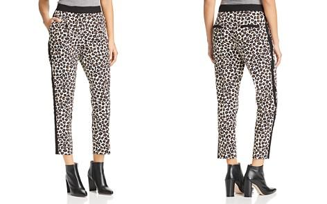 Marella Rosone Cropped Leopard Tuxedo Pants - 100% Exclusive - Bloomingdale's_2