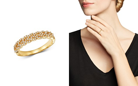 Bloomingdale's Diamond Braided Band in 14K Yellow Gold, 0.30 ct. t.w. - 100% Exclusive_2