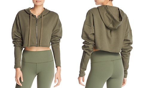 Alo Yoga Extreme Cropped Hoodie - Bloomingdale's_2