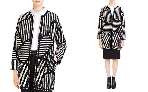 Gerard Darel Marla Graphic-Knit Jacket - Bloomingdale's_2