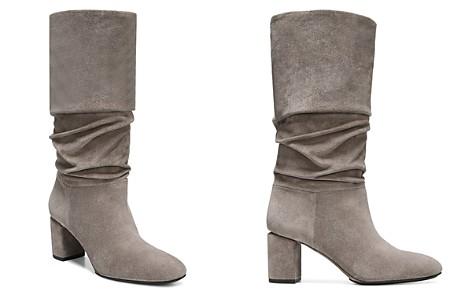 Via Spiga Women's Naren Suede Tall Slouch Boots - Bloomingdale's_2