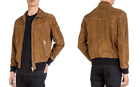 The Kooples Suede Leather Jacket - Bloomingdale's_2