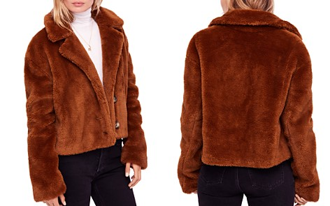 Free People Mena Faux-Fur Coat - Bloomingdale's_2