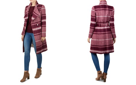Ted Baker Skaalet Check Wrap Coat - Bloomingdale's_2