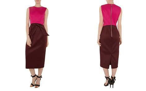 Ted Baker Nikkita Color-Block Midi Dress - Bloomingdale's_2
