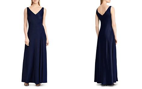 Lauren Ralph Lauren Bias Jersey Gown - Bloomingdale's_2